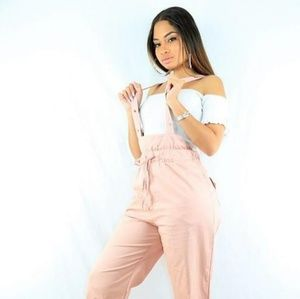 Pants - Pink Panther Overalls